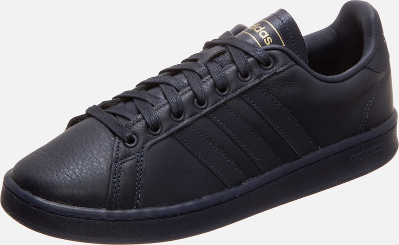 ADIDAS PERFORMANCE Sneaker 'Grand Court' in nachtblau / gold, Produktansicht