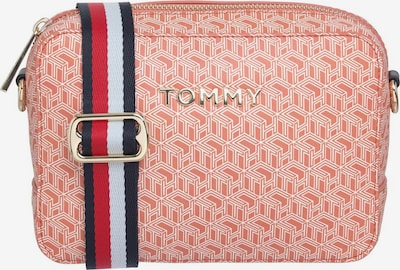 TOMMY HILFIGER Schoudertas 'ICONIC CAMERA' in de kleur Donkerblauw / Rosa / Rood / Wit, Productweergave