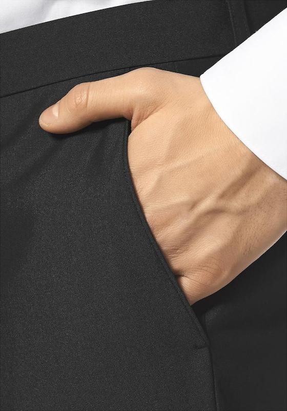 BRUNO BANANI Anzug mit Krawatte und Einstecktuch (Set, 4 tlg.)