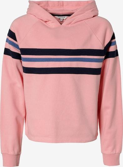 REVIEW FOR TEENS Sweatshirt in royalblau / rosa / schwarz, Produktansicht