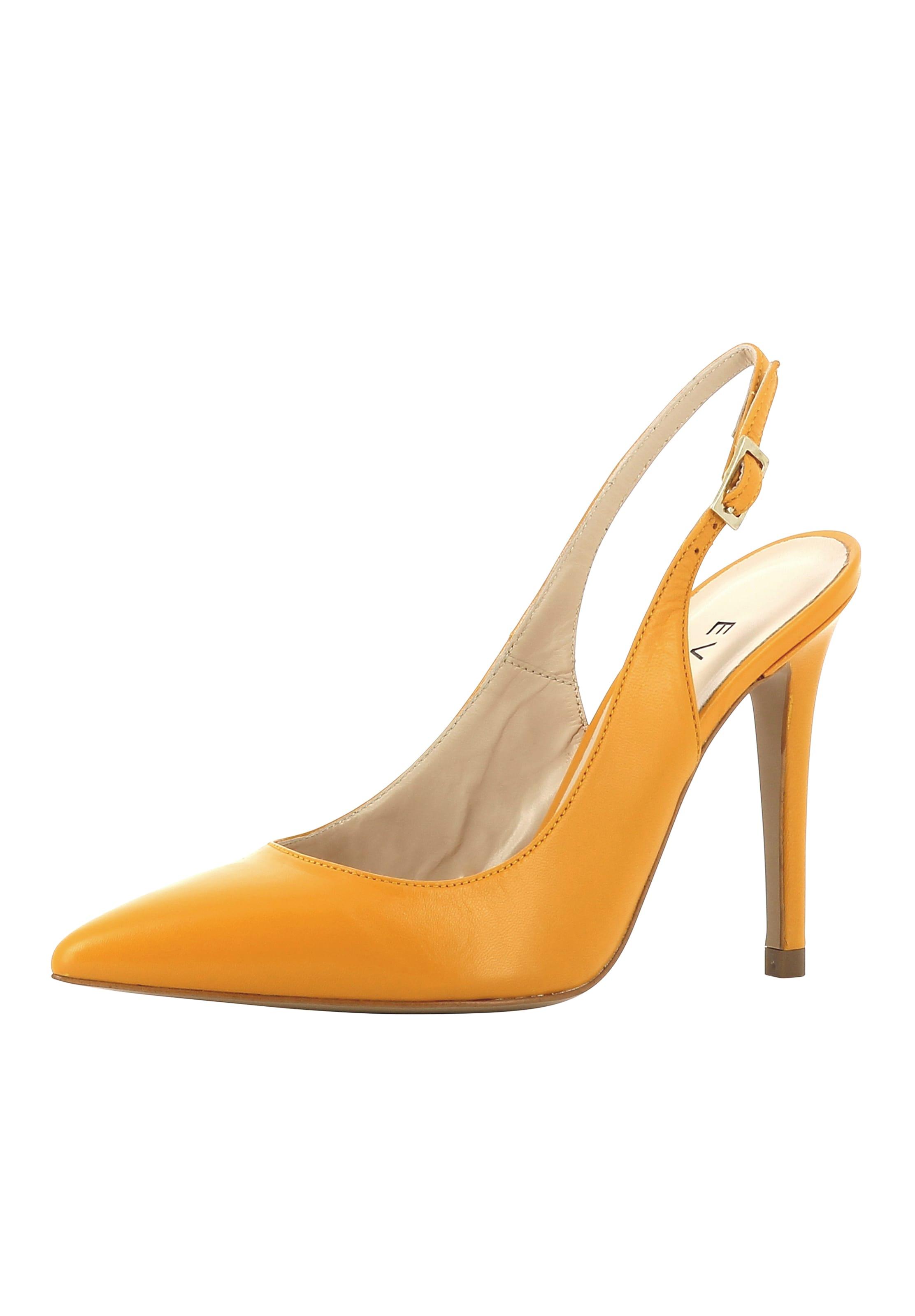 Evita In Sling Pumps Damen Orange 4cARjL35q