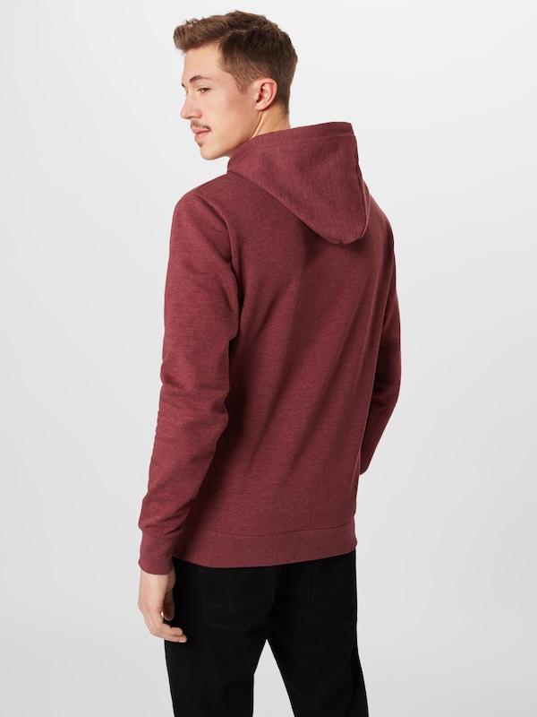 Hood En shirt 'morgan solid Am' Bordeaux Sweat ARjc3qS5L4