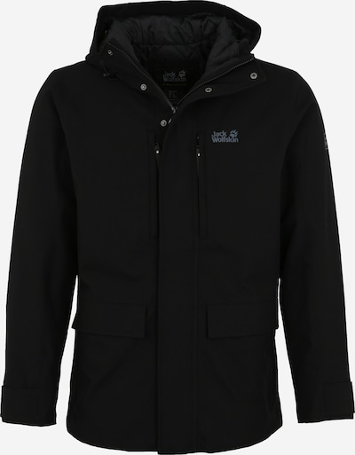 JACK WOLFSKIN Outdoorjas 'West Coast' in de kleur Zwart, Productweergave