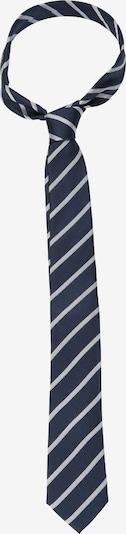 SEIDENSTICKER Krawatte 'Schwarze Rose' in dunkelblau / weiß, Produktansicht