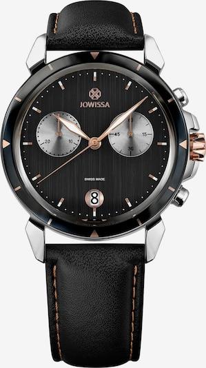 JOWISSA Quarzuhr 'LeWy 6' Swiss Men's Watch in rosegold / schwarz / silber, Produktansicht