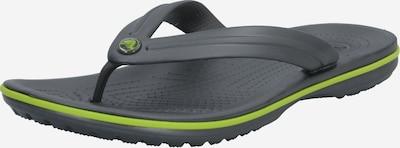 Flip-flops Crocs pe gri, Vizualizare produs