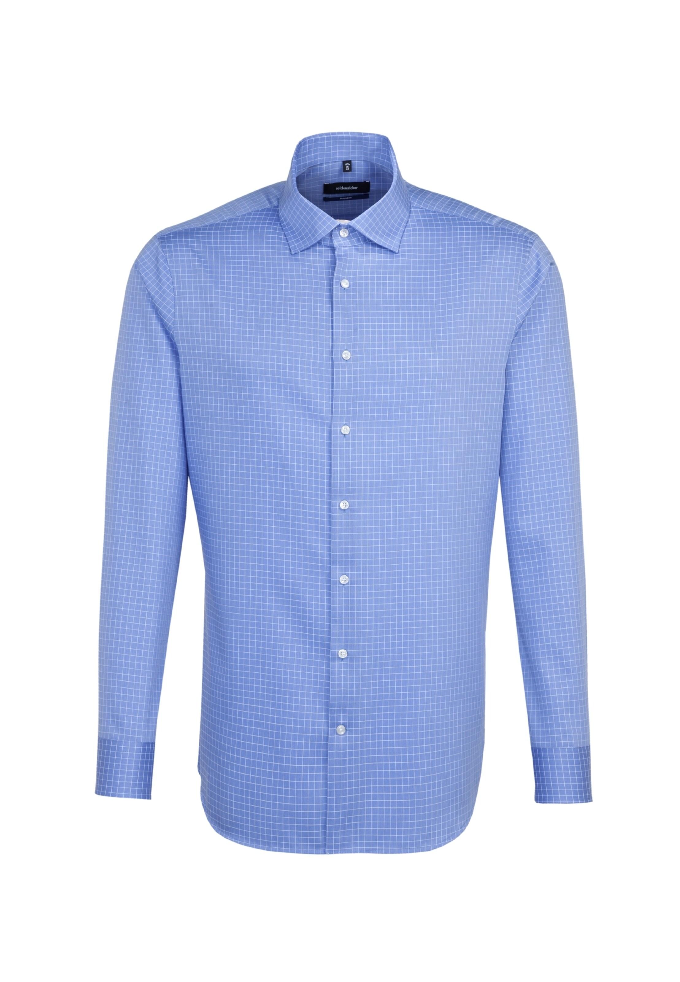 RauchblauWeiß Hemd In Seidensticker In Seidensticker Hemd P8n0NOkwX