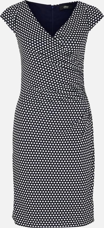 Navy S Kleid Weiß Black Label oliver wvUqnUIPFR