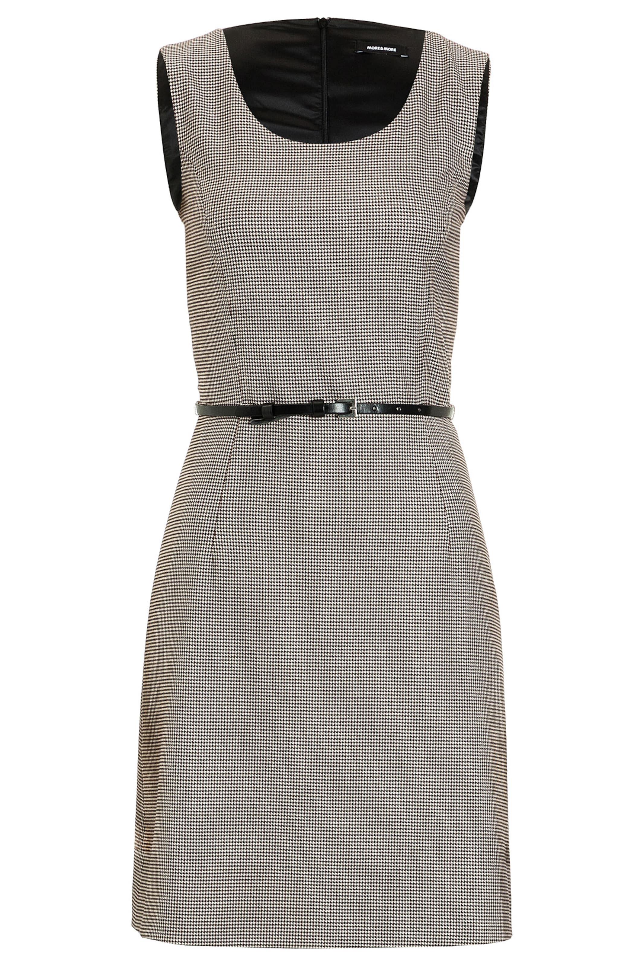 Kaufen Billig Zu Kaufen Billig Verkaufen Bilder MORE & MORE Pepita-Kleid Erstaunlicher Preis Online Freie Verschiffen-Spielraum jHuwIJw