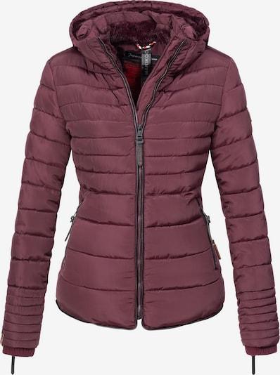 MARIKOO Winter Jacket 'Amber' in Wine red, Item view