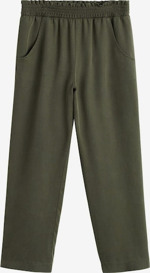 MANGO KIDS Spodnie 'fruit' w kolorze khakim, Podgląd produktu
