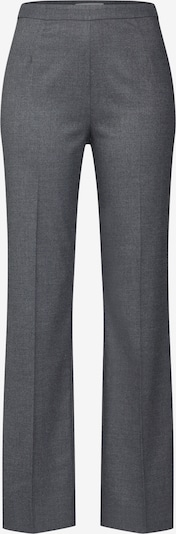 EDITED Pantalon à plis 'Candia' en gris foncé, Vue avec produit