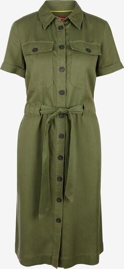 s.Oliver Blusenkleid in khaki, Produktansicht