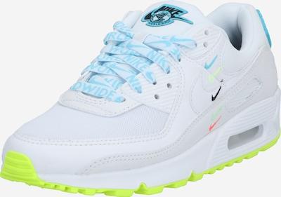 Nike Sportswear Madalad ketsid 'Air Max 90' helesinine / valge, Tootevaade