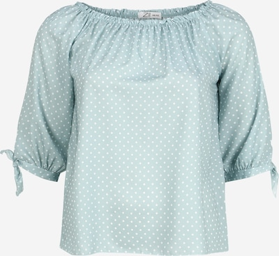 Z-One Blusenshirt 'Molly' in blau / hellblau, Produktansicht