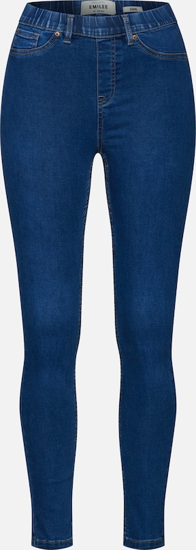 Pantalon Bleu Look Denim New En OlPXkiuTwZ