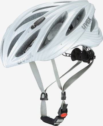 UVEX Uvex Boss Race Fahrradhelm in Weiß