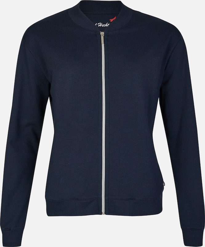 Daniel Hechter Sporty Sweat Jacket With Print On The Back