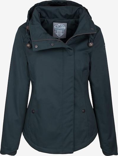 DREIMASTER Winterjas in de kleur Smaragd: Vooraanzicht