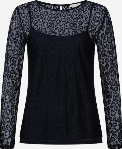 ESPRIT Shirt 'Lace 2 in 1' in schwarz, Produktansicht