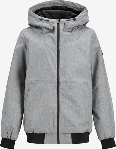 Jack & Jones Junior Jacke in graumeliert / schwarz, Produktansicht