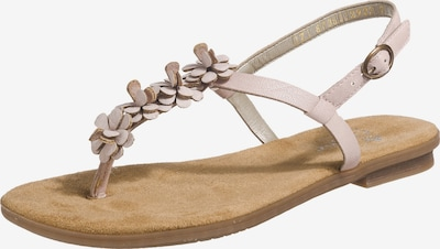 RIEKER T-bar sandals in pink, Item view