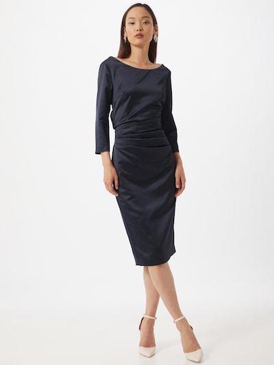 SWING Večerné šaty - tmavomodrá, Model/-ka