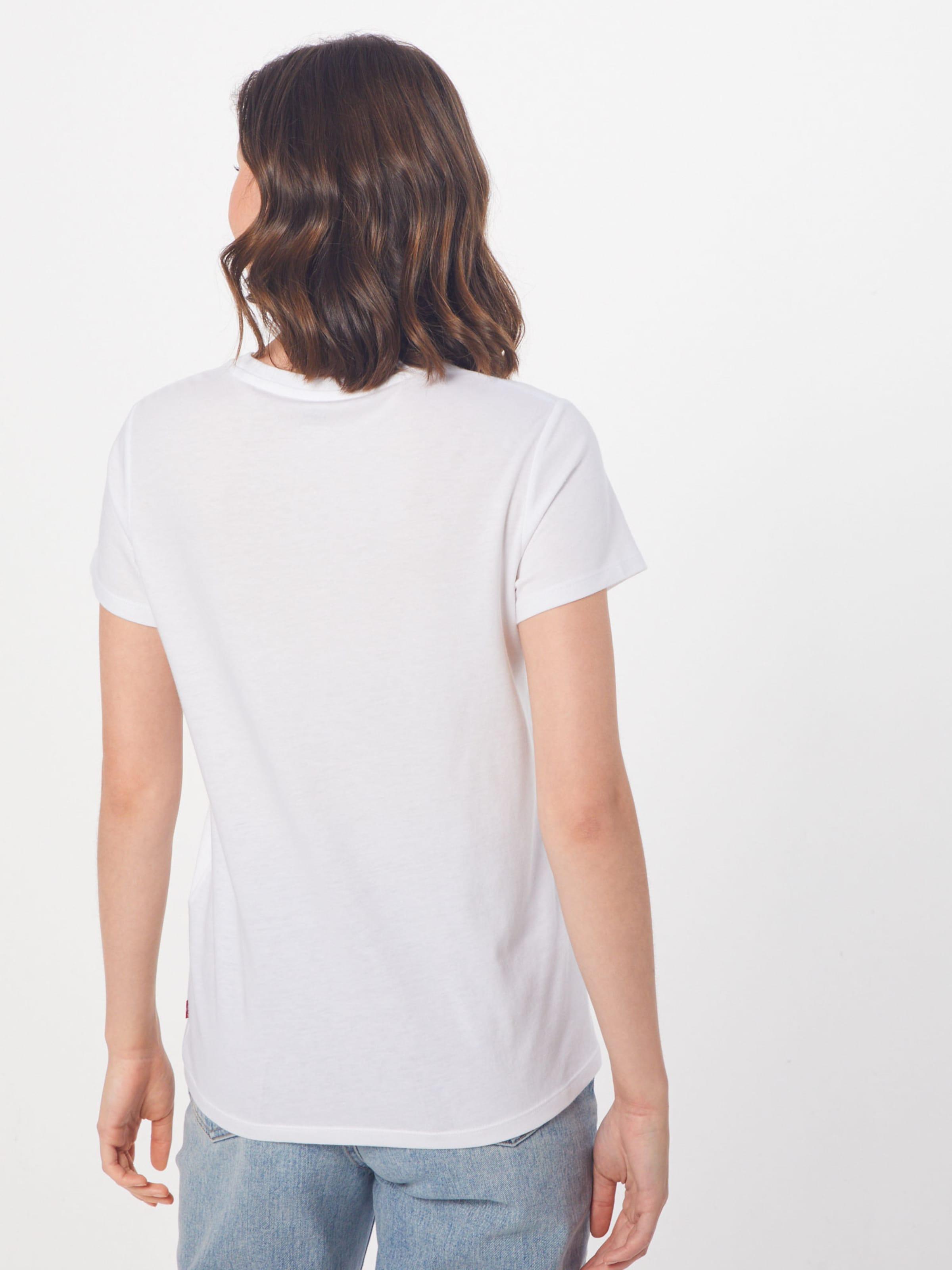 En 'the Tee' Blanc T shirt Levi's Perfect sQdthrC