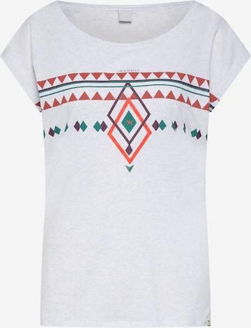 Iriedaily Tričko 'Hopi' - biela