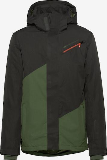 PROTEST Skijacke 'Walks' in grasgrün / schwarz, Produktansicht