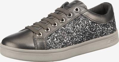 GEOX Sneaker 'Djrock' in taupe / graphit / silber, Produktansicht