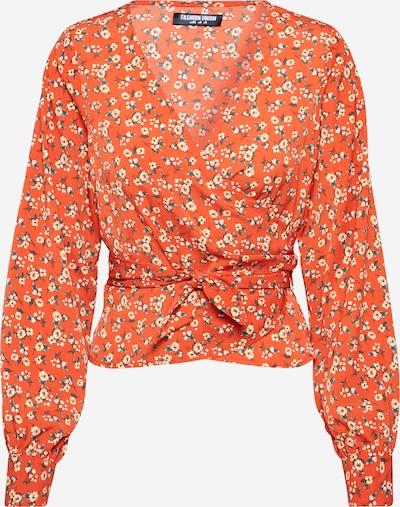 Fashion Union Bluse 'SURREY VERSION 2' in orange, Produktansicht