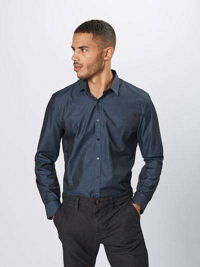 OLYMP Biroja krekls 'No. 6 Struktur' pieejami kamuflāžas: Priekšējais skats
