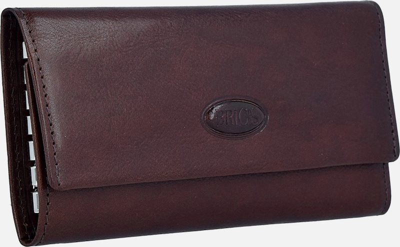 Brics Monterosa Key Pouch In Leather 13 Cm