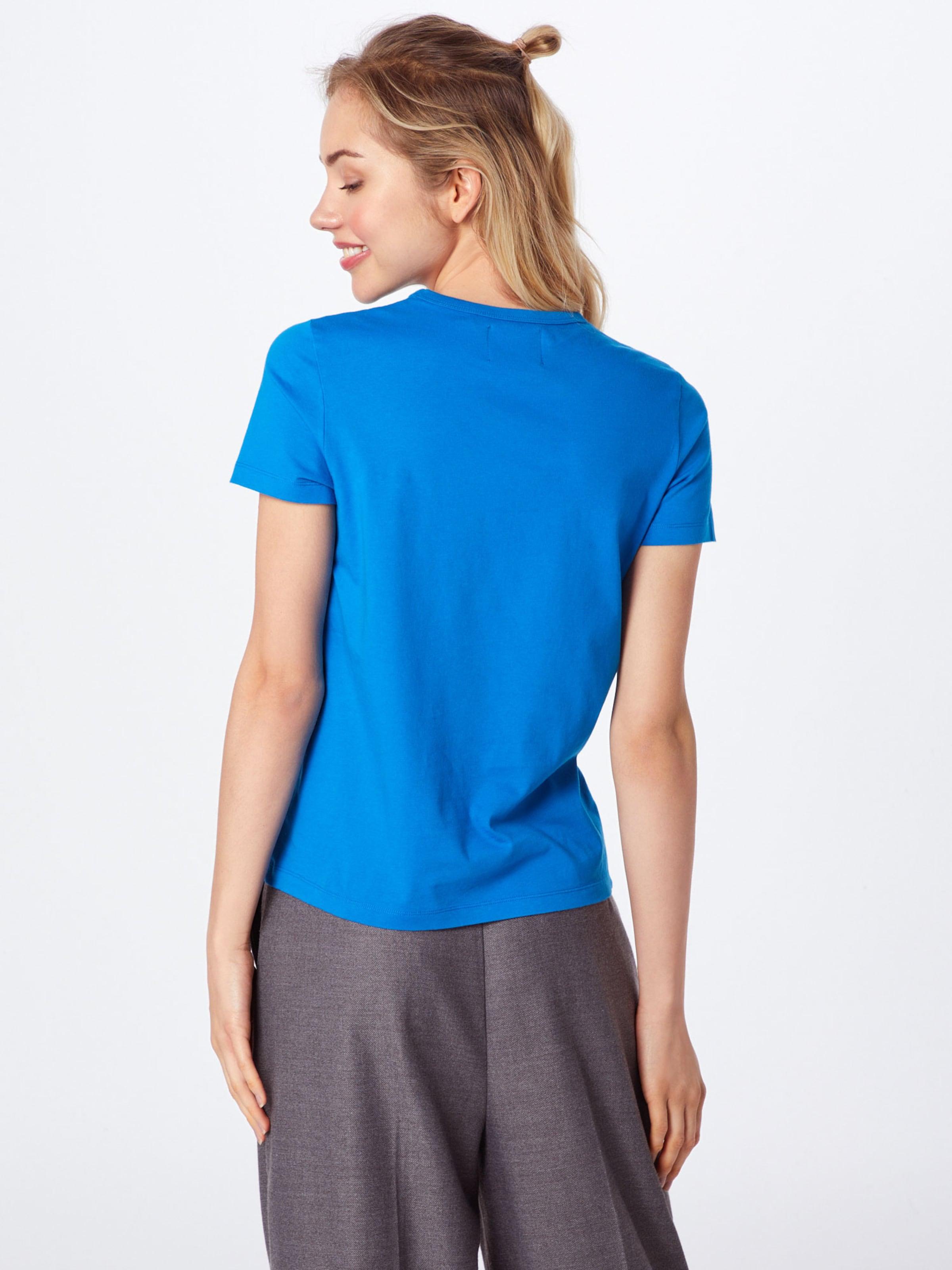 shirt 'uma' Bleu T En Wood XkiuPOZT