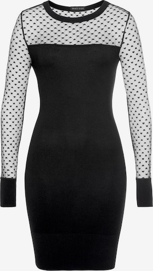 MELROSE Strickkleid in schwarz, Produktansicht