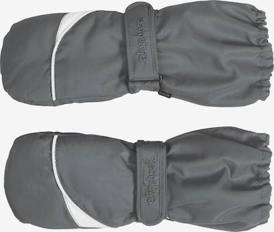 PLAYSHOES Fäustlinge in grau / weiß, Produktansicht