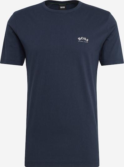 BOSS ATHLEISURE Shirt 'Tee Curved' in navy, Produktansicht
