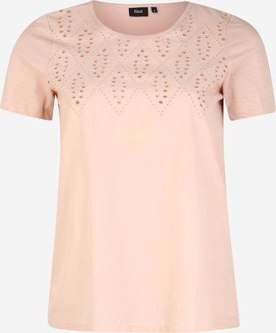 Zizzi Shirt 'MSTELLA' in de kleur Rosa, Productweergave