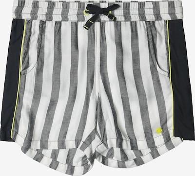 ESPRIT Shorts in gelb / grau / schwarz / weiß, Produktansicht