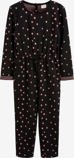 NEXT Jumpsuit in rot / schwarz, Produktansicht