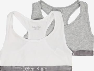 Calvin Klein Underwear Bustier in Grau
