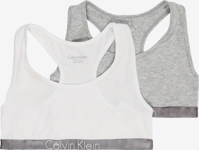 Calvin Klein Underwear Krūšturis raibi pelēks / balts, Preces skats