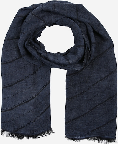 REPLAY Schal in dunkelblau / schwarz, Produktansicht