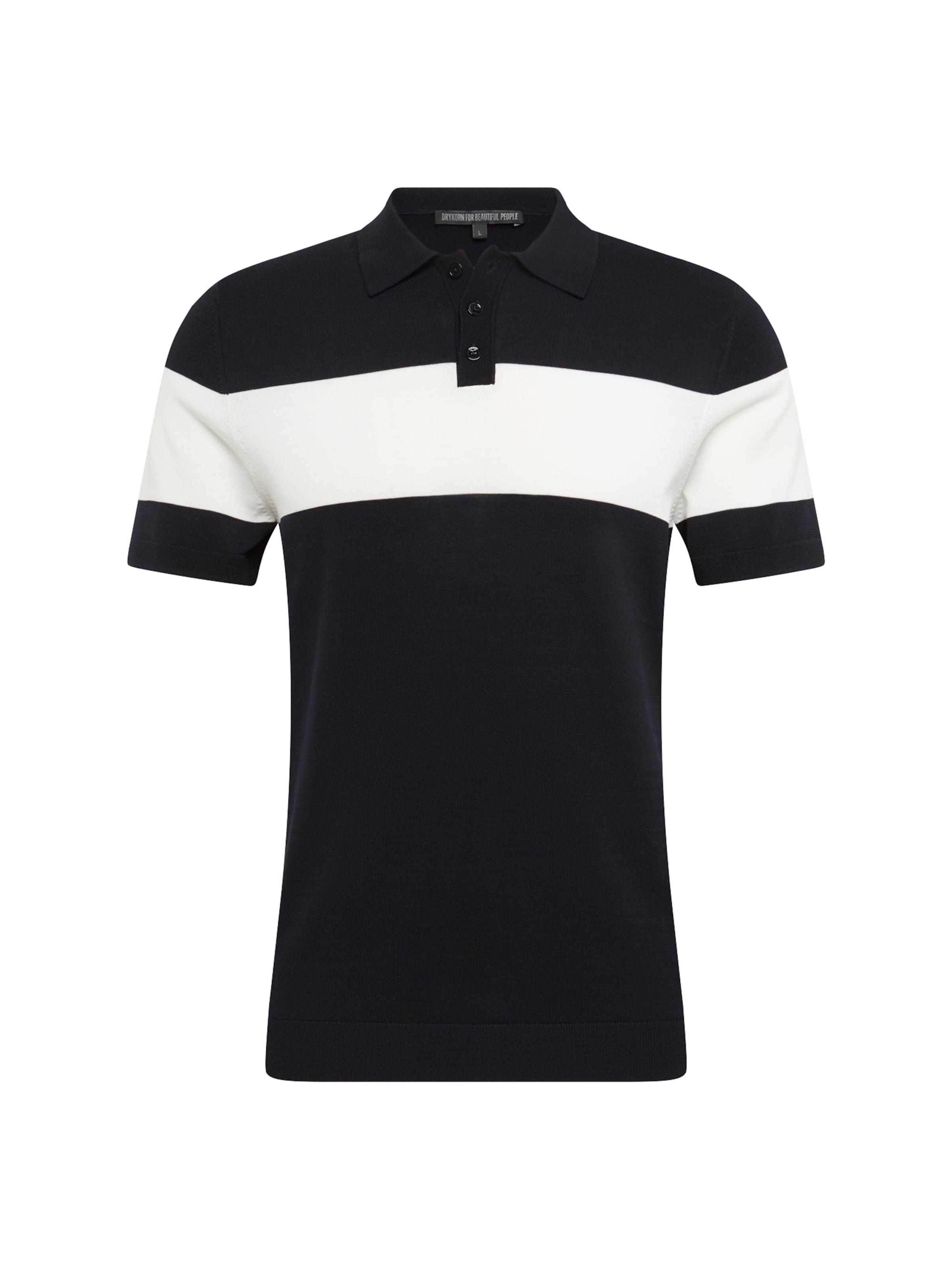 Drykorn NoirBlanc shirt T En 'triton' pzUVqSM