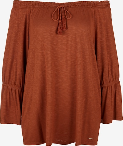TRIANGLE Shirt in braun, Produktansicht