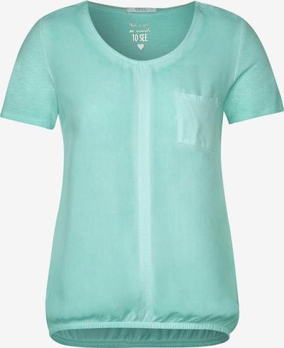 CECIL Lässiges T-Shirt in hellblau: Frontalansicht