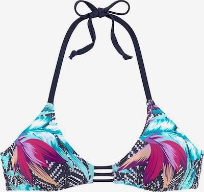 VENICE BEACH Bikini-Top 'Jane' in navy / weiß, Produktansicht