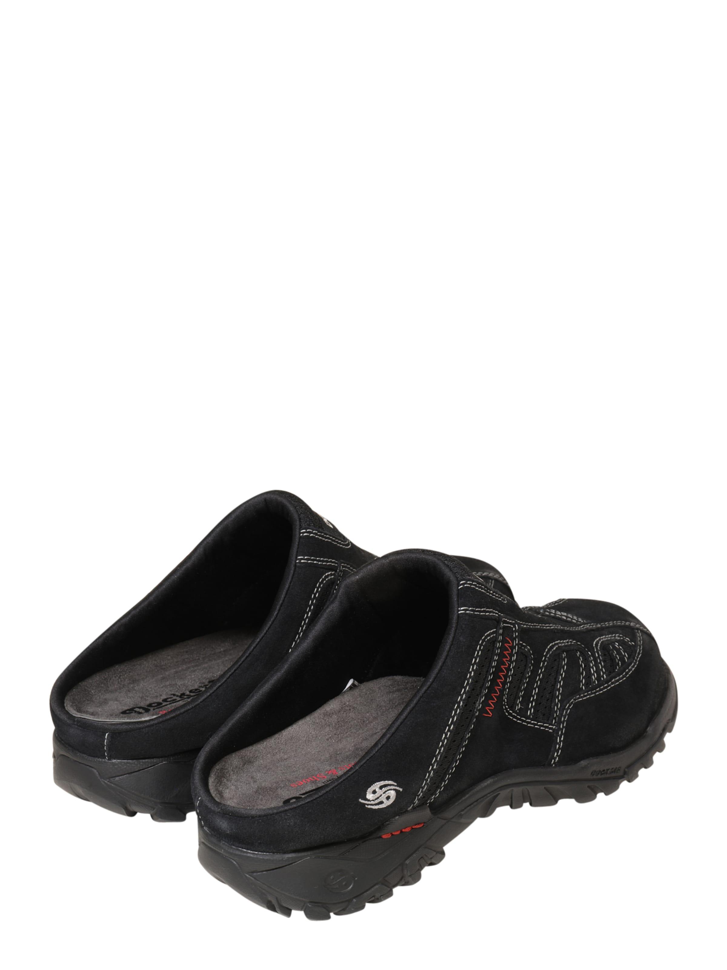 Dockers by Gerli Pantolette 'Clog 'Clog 'Clog Leder Bequem, gut aussehend 4339ff
