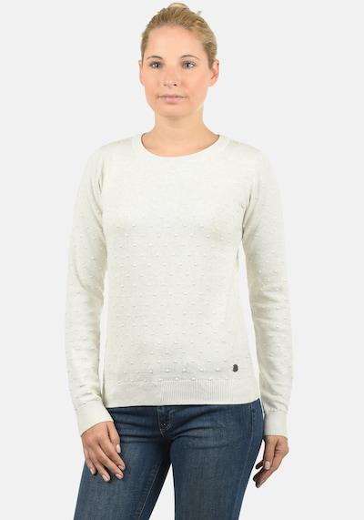 Desires Strickpullover 'Kiki' in weiß: Frontalansicht